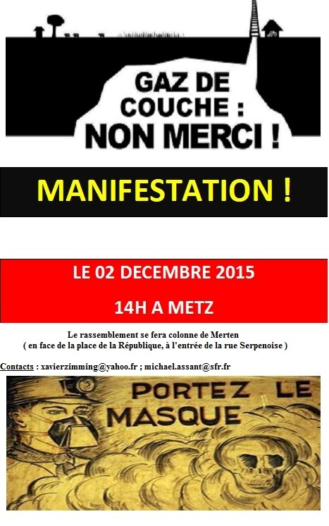 affiche manifestation 2 dec 2015 gaz