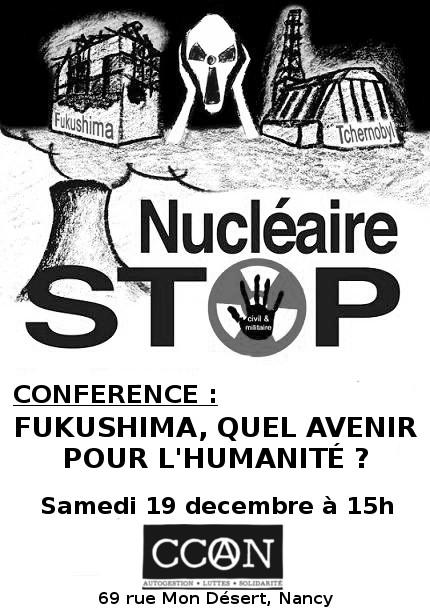 Fukushima, quel avenir pour l'humanité ?